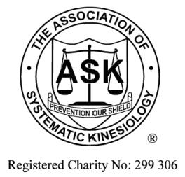 The Association of Systematic Kinesiology